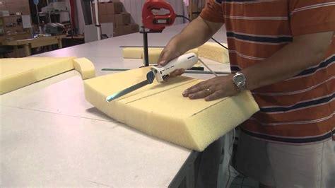 cutting cushion foam  electric kitchen knife youtube