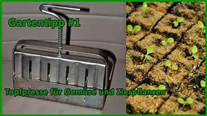 Dünger Für Gemüse Selber Machen : gartentipp 1 erdpresst pfe erstellen f r gem se und ~ Articles-book.com Haus und Dekorationen