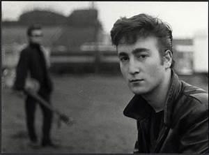 Lot Detail - John Lennon 1960 Vintage Stamped Photograph ...