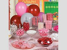 Valentine's Day Candy Buffet Candy Buffet Ideas in 2019