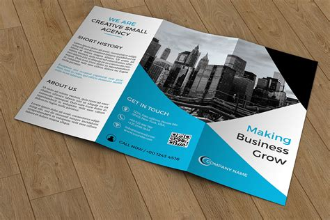 business brochure trifold business brochure v422 brochure templates on creative market