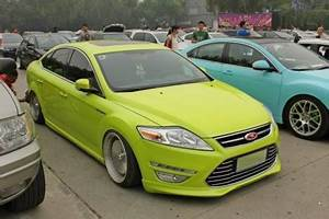 Ford Mondeo is a Low Rider in China CarNewsChina