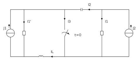librerie fidocad verso correnti in circuito con doppio generatore il
