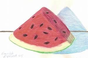 Watermelon Slice by skullmage550 on DeviantArt