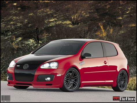 Vw Golf Mk5 Gti Abt Vt By Andreilowrider On Deviantart