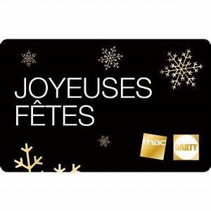 Carte Fidélité Darty : e carte cadeau fnac darty joyeuses f tes top prix fnac ~ Melissatoandfro.com Idées de Décoration