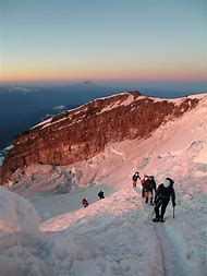 Mountain Climbing Mount Rainier