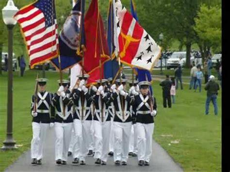 va tech colors virginia tech corps of cadets color guard