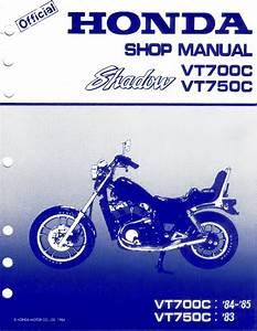 1983 Honda Shadow Vt750c Service Manual