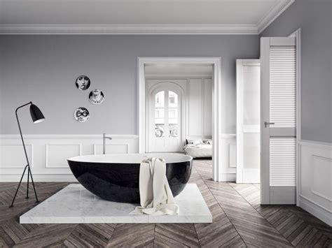 luxury bathroom designs  freestanding bathtub