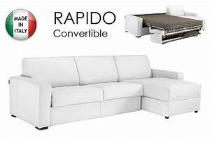 canape d39angle dreamer convertible ouverture rapido 120cm With canape convertible d angle couchage quotidien