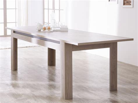 table de cuisine rectangulaire table bois salle a manger avec rallonge wraste com
