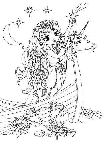 Anime Princess & Fairies Artist Elena Yalcin Anime