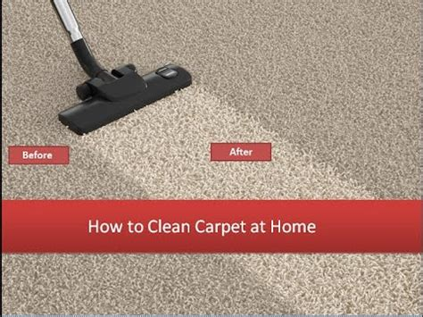 How To Clean Carpet At Home  4 Carpet Cleaning Secrets