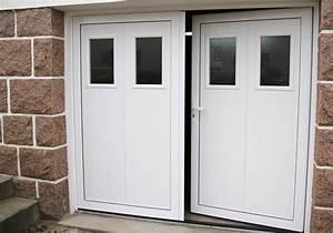 basculantes portes de garage automatismes With porte garage 2 vantaux
