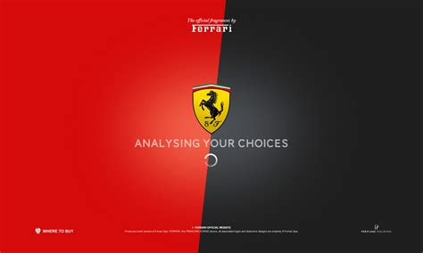 Jeremy fragrance has had some really odd behavior recently, leading many people to ask if he needs help. Ferrari, Perfume - Ferrari - agence CHANGE