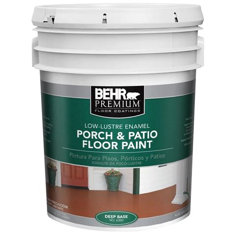 behr porch and patio paint and primer behr premium 5 gal 6300 low lustre interior