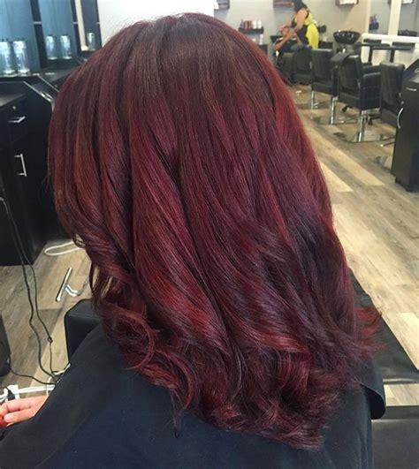 50 Stunning Dark Red Hair Color Ideas — Bright Yet Elegant