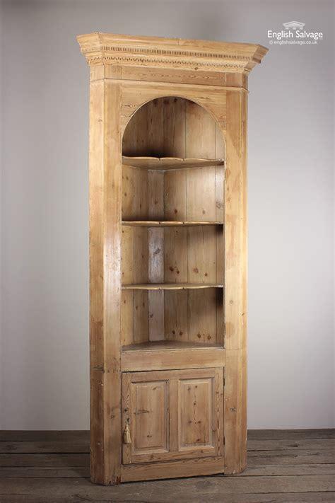 antique pine corner dresser kitchenshop unit