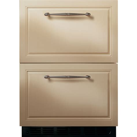 zidihii monogram double drawer refrigerator module