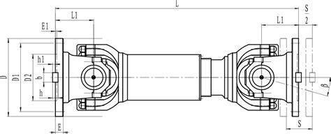 Cardan Shaft Universal Joint  Upd Type  China Suoda