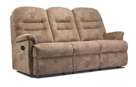 reclining settees keswick small fabric reclining 3 seater settee sherborne