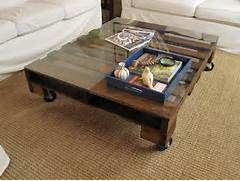Gorgeous DIY Coffee Tables 12 Inspiring Projects To Upgrade Bought 4 Castors From Bunnings For 5 Each They Lock Too So It DIY Coffee Table From Pallets Wooden Pallet Furniture Pallet Coffee Tables Big Sq Espresso Table Pallet Furniture