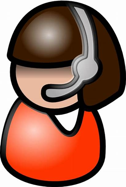 Clip Clipart Representative Icon Vector Person Customer
