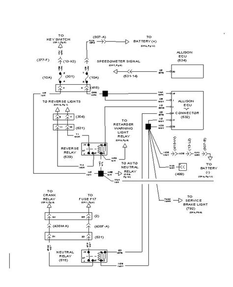 74 International Wiring Diagram by I A 2000 International 4700 Toter With A Allison 6
