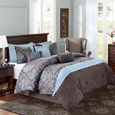 chocolate brown and blue bedding chocolate brown and blue bedding sets