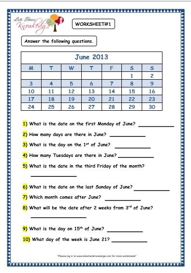 free worksheets 187 calendar practice worksheets free math