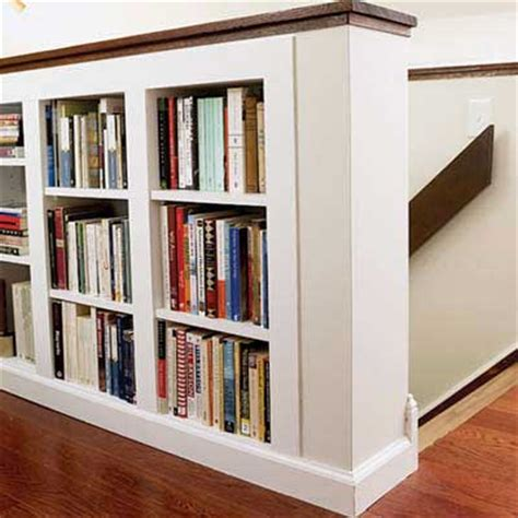bookcase built into wall bookshelf plans this old house pdf woodworking