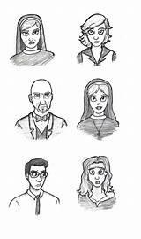 Horror Asylum Deviantart Ahs Coloring Sketch Drawing Sheets Coven Template Dibujos Chibi Abecedario Jodee Fan Stories Templates Dibujo Witch Gemt sketch template