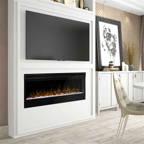 prism series wall mount linear electric fireplace