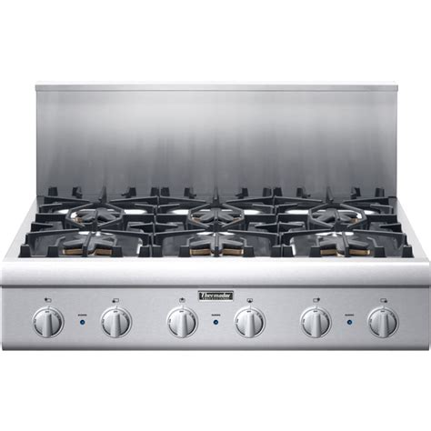 thermador gas cooktop pcg366g thermador professional 36 quot gas rangetop 6 burners