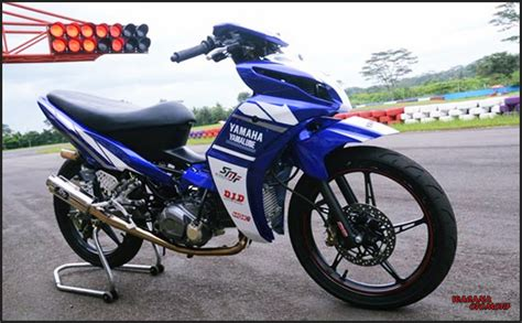 Motor Jupiter Z Road Race by Gambar Modifikasi Motor Yamaha Jupiter Z Road Race Tercepat