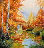 Autumn Landscape Oil Painting