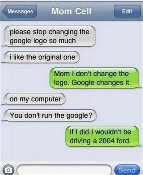 funny texts  mom team jimmy joe