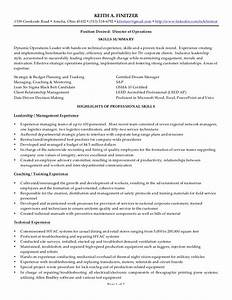Keith a finitzer resume for Plastic injection molding sample resume