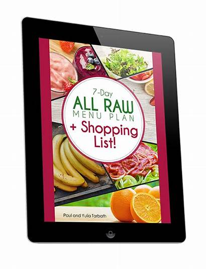 Raw Plan Fully Diet Meal Shopping Foods