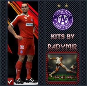pes 2013 fk austria wien third kits 16 17 by radymir pes patch