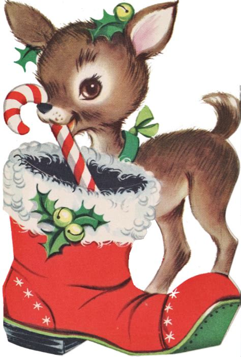 nook graphics vintage christmas images