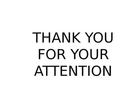 Thank You For Your Attention Pptx Converter Powerpoint Thepixinfo