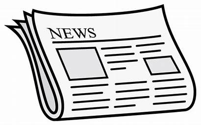 Newspaper Clipart Transparent Headlines Station Icon Silhouette