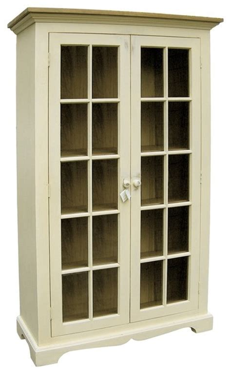 Curio Cabinet   Farmhouse   China Cabinets And Hutches