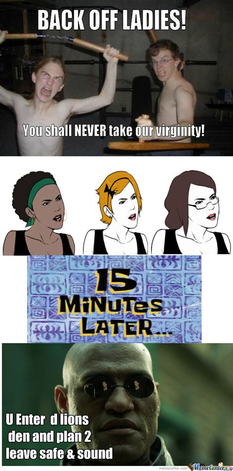 Back Off Meme - rmx back off ladies you shall never take our virginity by recyclebin meme center