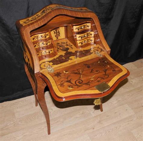 table de bureau but louis xv bureau de dame desk writing table inlay