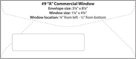 window envelope template commercial window booklet catalog templates western states wsel