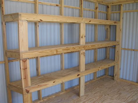 Build Shelves In Garage Plans Diy Free Download How To A