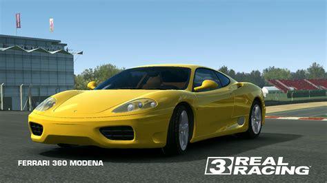 Modified ferrari 360 modena lovely exhaust sound! FERRARI 360 MODENA | Real Racing 3 Wiki | Fandom